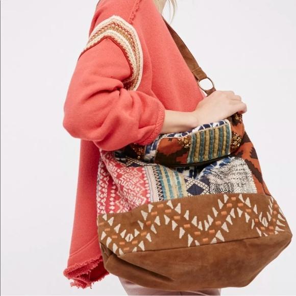 034125b4ae Free People Handbags - NEW Free People Indian Summer Hobo Handbag
